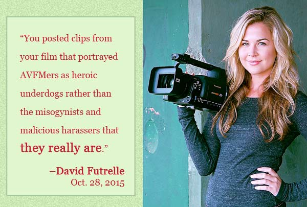 David Futrelle explains why he is so upset with filmmaker Cassie Jaye