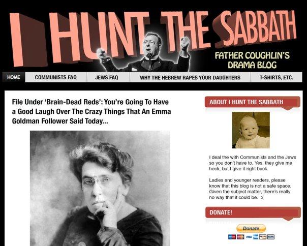 Father Coughlin's Drama Blog